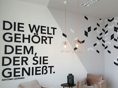 Wanddesign